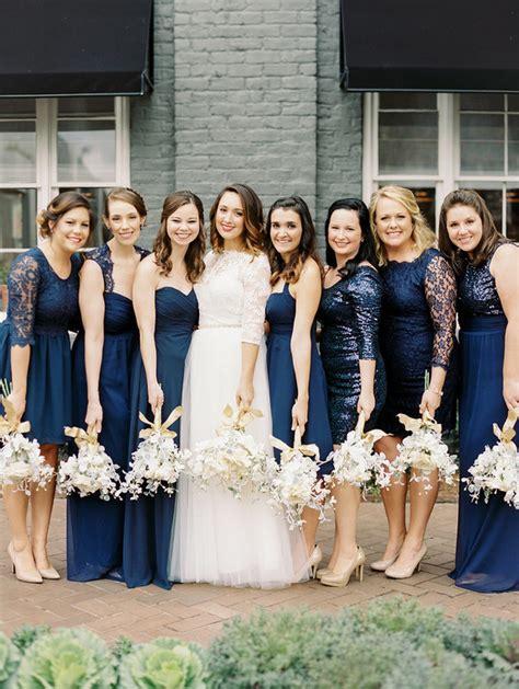 Navy blue bridesmaid dresses   Wedding & Party Ideas   100