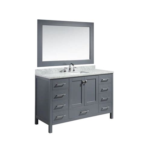 design element two london 36 in w x 22 in d vanity in design element london 54 in w x 22 in d x 36 in h