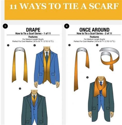 11 ways a guy can tie his scarf the huffington post gentlemen 11 ways to tie a scarf style for the guys