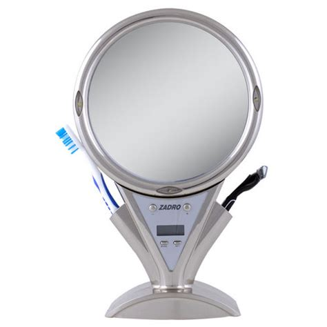 fogless shower mirror with light and magnification z fogless led fogless power zoom shower mirror at