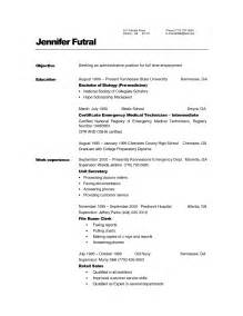 resume examples for unit secretary augustais