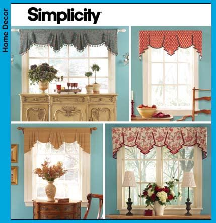 simplicity curtain patterns simplicity 4656
