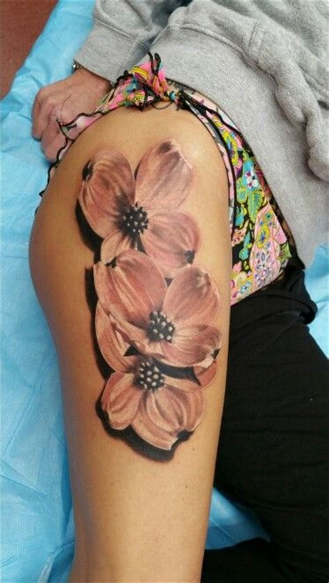 dogwood flower tattoo dogwood flower wrist www imgkid the image