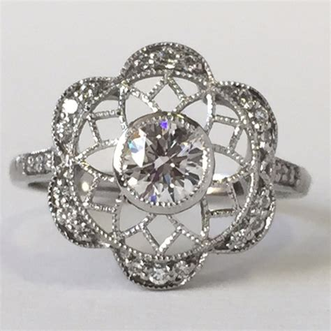 why choose a platinum engagement ring hart s
