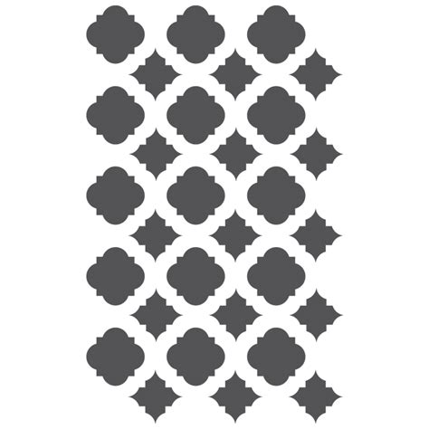 moroccan shapes templates moroccan stencils template for crafting canvas diy decor