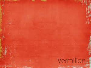 vintage color concepts vermilion color of vintage decoartpiece