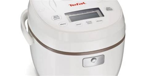 Tefal Fuzzy Logic Rice Cooker 1 L tefal rk5001 mini fuzzy logic rice cooker 0 5l
