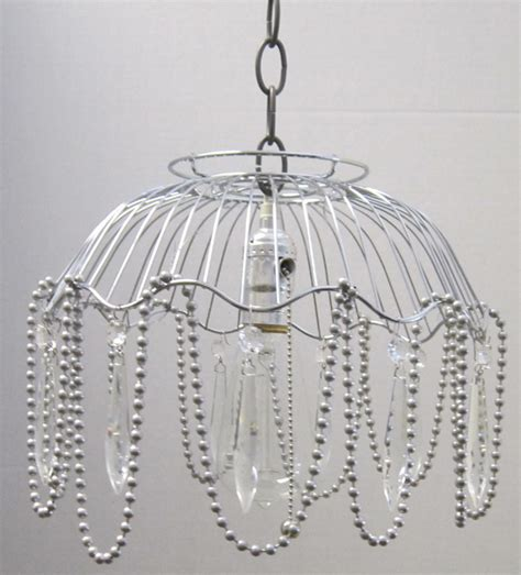 Basket Pendant Light Industrial Atomical Wire Basket Pendant Light With Crystals