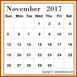 November Calendar Template by November 2017 Calendar Template Templates Tools