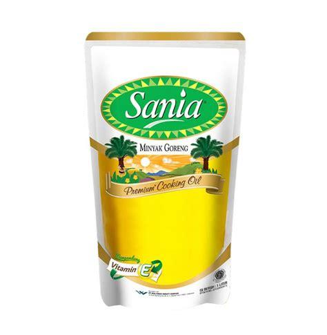 Minyak Goreng Sania jual sania premium minyak goreng pouch 1000 ml