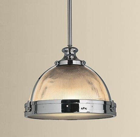 lighting pendants kitchen clemson ribbed glass dome pendant