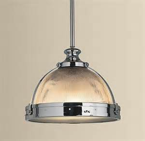kitchen pendent lights clemson ribbed glass dome pendant
