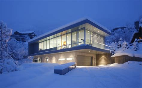 snow home beautiful houses the scholl residence in aspen colorado usa