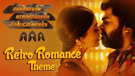 theme music of tamil movies aaa retro romance theme song str shriya saran