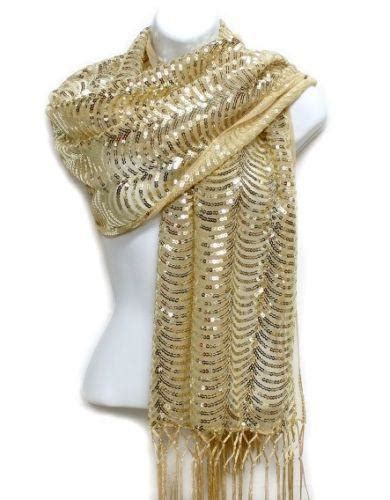 metallic gold scarf scarves wraps ebay