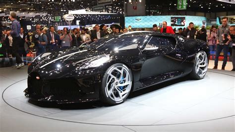 bugatti la voiture noire  expensive  car revealed