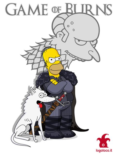 Simpsons Of Thrones by Simpsons Vs Of Thrones Homer By Logolocoadv