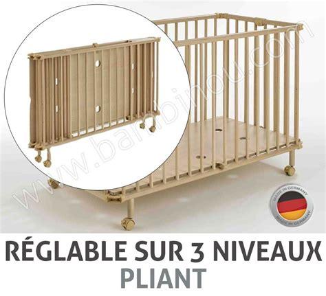 lit pliant en bois pas cher lit pliant bois pour bebe