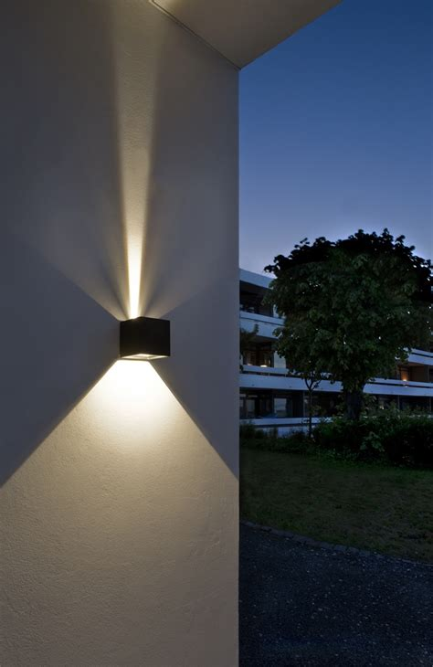 led outdoor wall lights enhance  architectural features   home warisan lighting