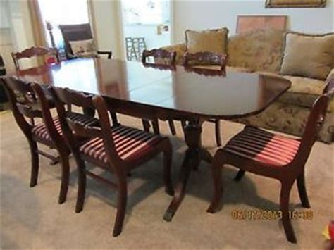 Tell City Dining Room Set by Tell City Chair Co Drop Leaf Tea Trolley Cart Server