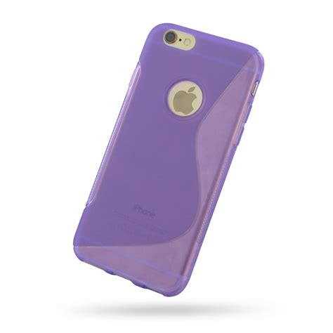 Softcase Violet For Iphone 6s iphone 6 6s soft purple s shape pattern pdair 10