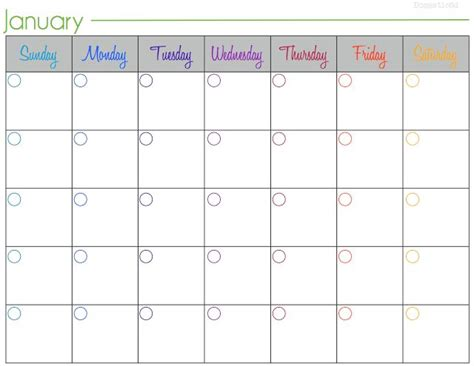 Calendar Do It Yourself Discover And Save Creative Ideas