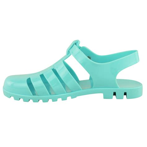 flat jelly shoes womens flat retro summer jelly sandals