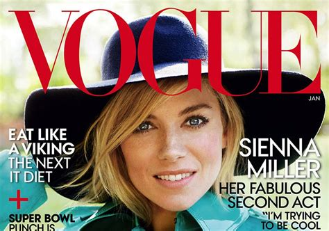 Miller Is Vogue Uks December Cover by Miller For Vogue Magazine January 2015 Sidewalk