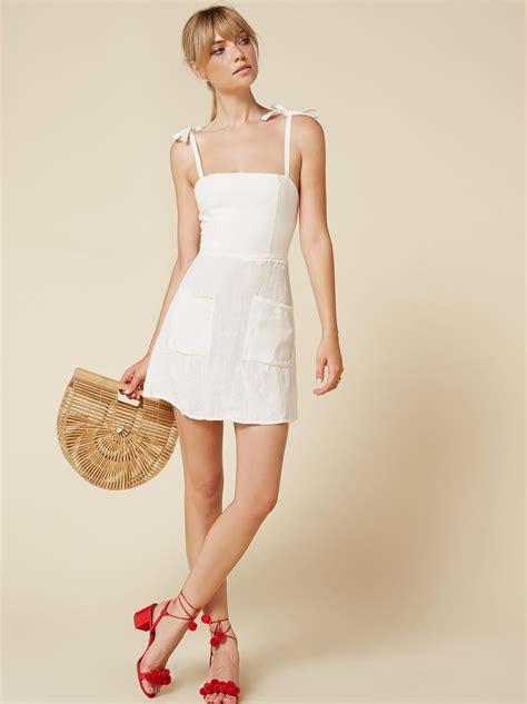 Canon Dress reformation white dress weddings dresses