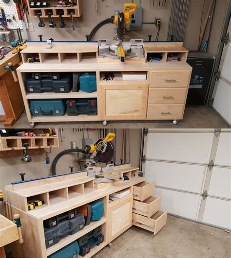 Miter Table by 25 Best Ideas About Miter Saw On Garage