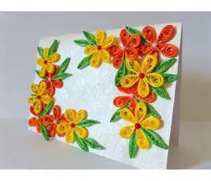 beautiful yellow and orange flowers greeting card buy