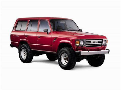 Toyota Suv 1980 1980 1989 Toyota Land Cruiser 60 Series Car Review