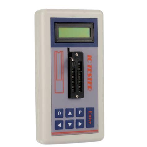 ee213 digital mos integrated circuits multi functional transistor tester integrated circuit ic tester meter maintenance tester mos pnp