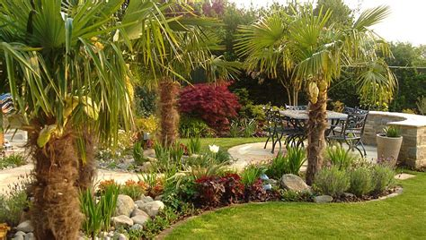 Small Country Style House Plans by Mediterranean Garden Design Patios And Tropical Planting
