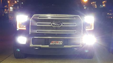 ford truck led lights f 150 led fog light bulbs ford f150 forum community of