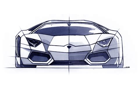 lamborghini sketch filippo perini brand and design director lamborghini
