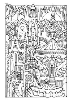 elaborate coloring pages for adults 1000 images about coloring pages on pinterest dover