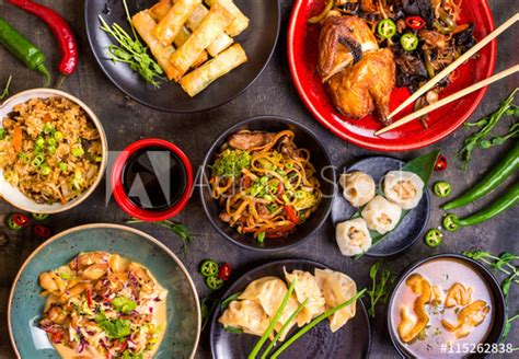 new year food order assorted food set noodles fried rice