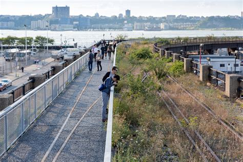 Section 3 Ny section 3 of the high line park opens today see new