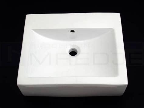 Waschbecken Ohne Wasseranschluss 5235 by Design Waschtisch Quadro 5145 52cm Wei 223 Ohne Hahnloch