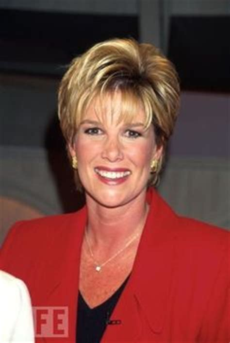 how to style hair like joan lunden joan lunden hairstyle short hair styles pinterest