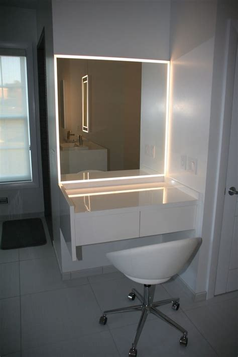 bathroom wall dressing and cupboards bathroom mirror with led lightning dream home
