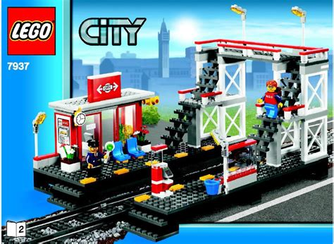 Lego 7937 City Station lego station 7937 city