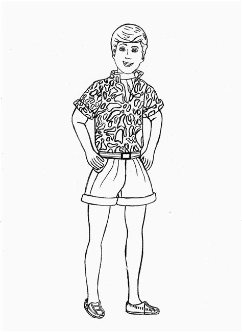 Toy Story Barbie Printable Coloring Pages Coloring Home And Ken Coloring Pages