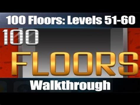 100 Floors Level 50 Not Working - 100 floors levels 51 60 walkthrough