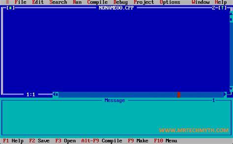 turbo c for windows 8 7 81 vista 32 bit 64 bits turbo c for window xp 7 vista 8 8 1 10 in x32