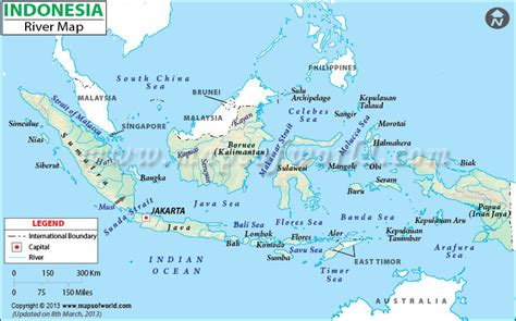 citarum river map image gallery indonesia rivers