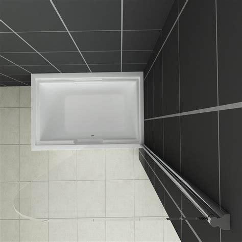 pivot bath shower screen 800x1400mm chrome 180 176 pivot bath shower screen glass door panel