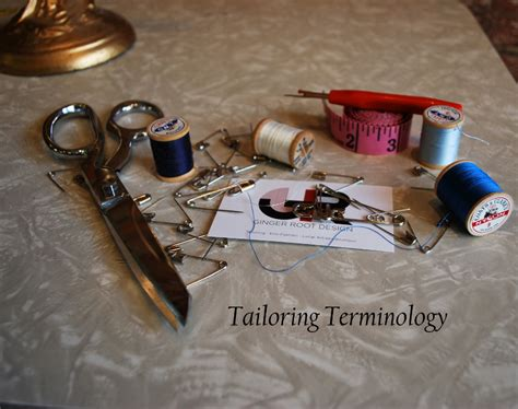 swing tack stitch tailoring terminology swing tack ginger root design