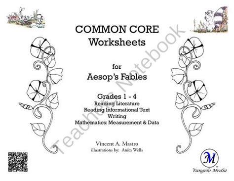 Aesop S Fables Worksheets by Common Worksheets For Aesops Fables Grades 1 4 From